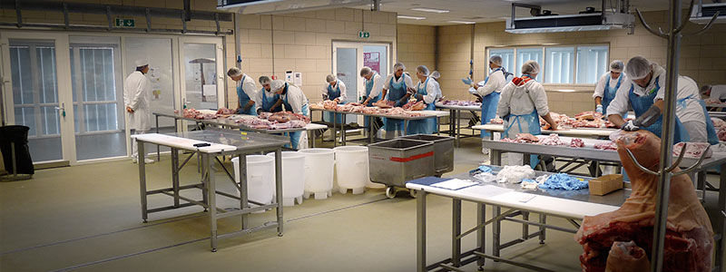 Danish Meat Trade College in Roskilde